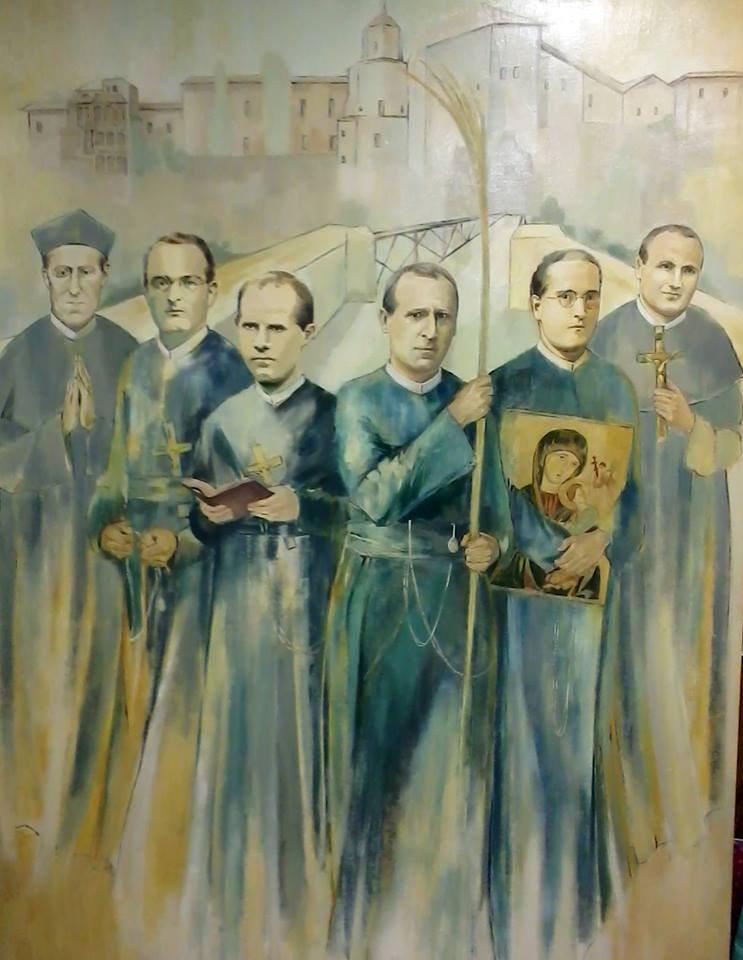 Cuadro - Beatos Mártires de Cuenca