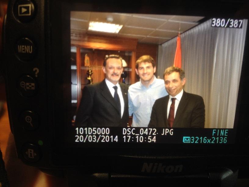 Funderética con Casillas
