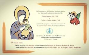Invitación ordenación Carlos y Pablo